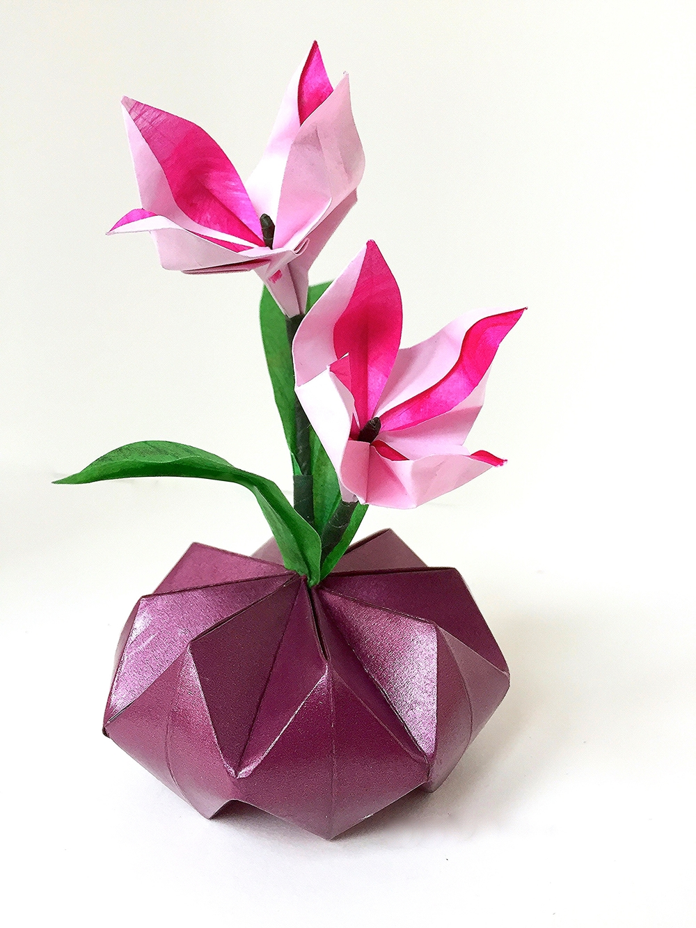 Origamipaper Flower Arrangements Nlm Origami Passion
