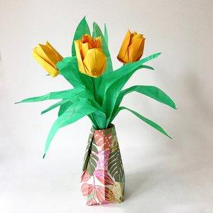 Medium Origami Paper Flower Arrangements NLM Passion