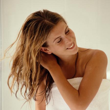 air dry hair