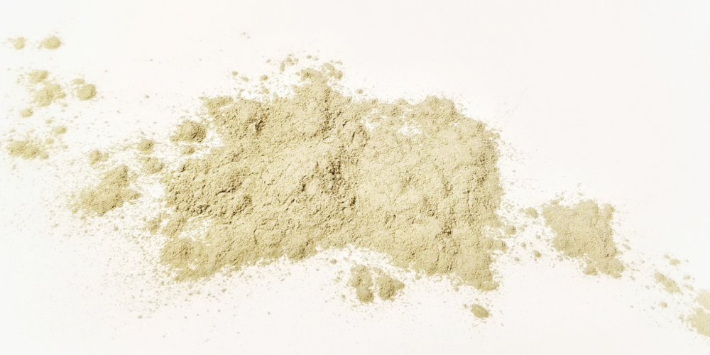 french green clay - French green clay is a detoxifying clay that absorbs and extracts dirt, excess oils and sweat, and build up from clogged pores. It helps tighten pores and nourishes skin with natural minerals.
