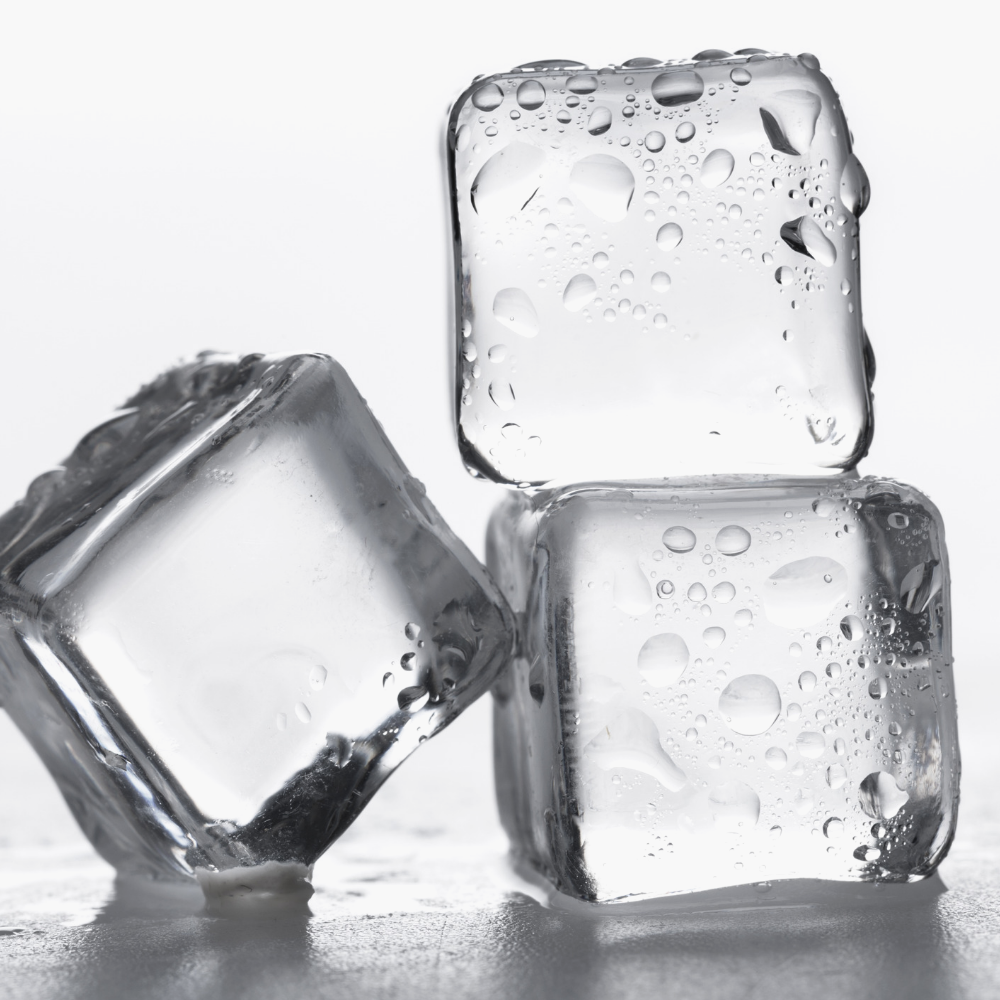 ice cubes - To reduce redness and inflammation, sometimes all you need is a good old fashioned ice pack. Soothe your irritated pimple and reduce swelling and redness very quickly by applying an ice cube directly the pimple area. The extreme cold from the ice will help immediately reduce the size of your pimple and soothe any pain you may be experiencing from the pimple as well.Even thought icing the inflamed area may cause initial redness, it will actually reduce redness after letting your facial skin and pimple area return back to their normal temperatures.