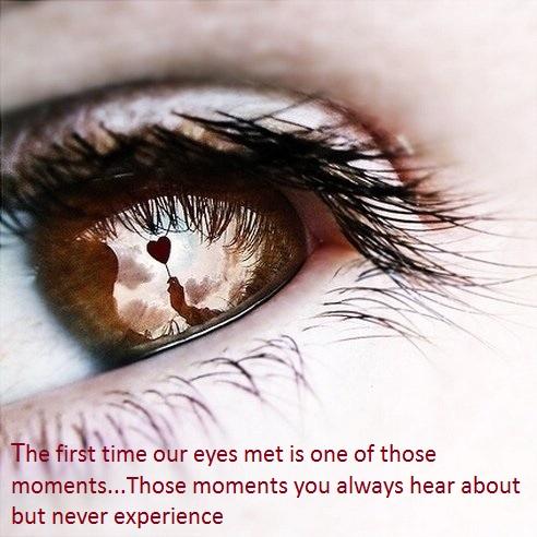 Eyes Met