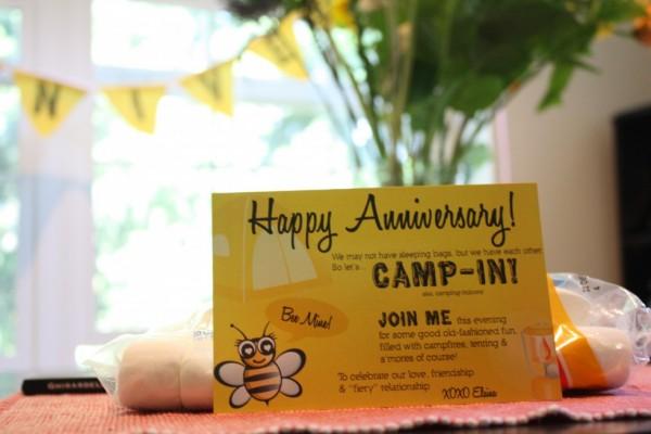 Invitation for Anniversary