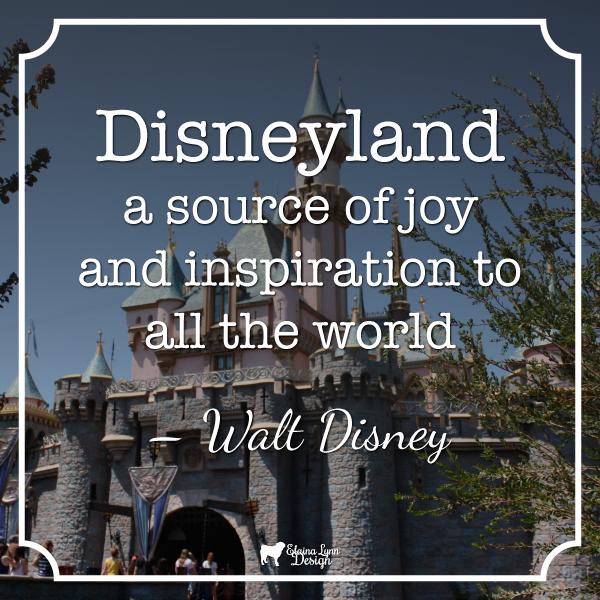 Quote Disneyland Inspiration