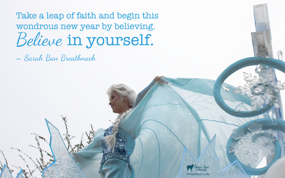 Background Believe in yourself Desktop Enchanted Type