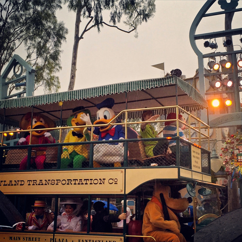 Disneyland Rain Parade