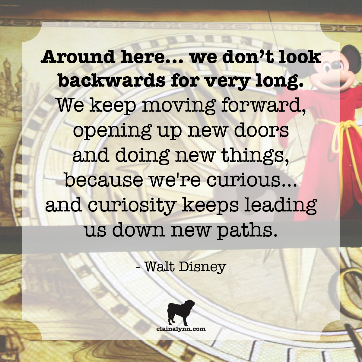 Quote Walt Disney Curiosity