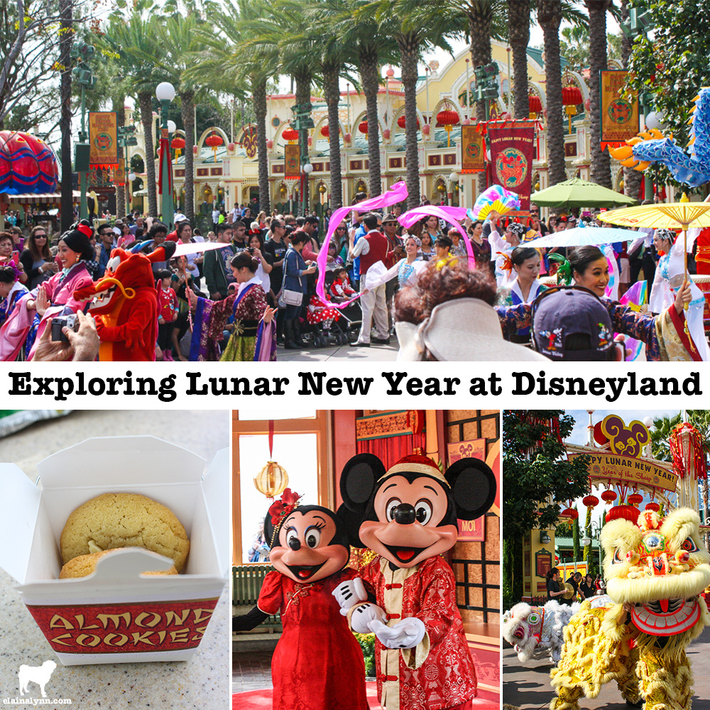 Exploring Lunar New Year at Disneyland