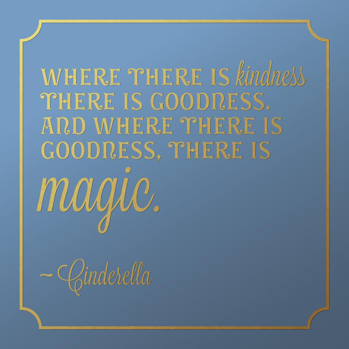 Quote Cinderella Kindness