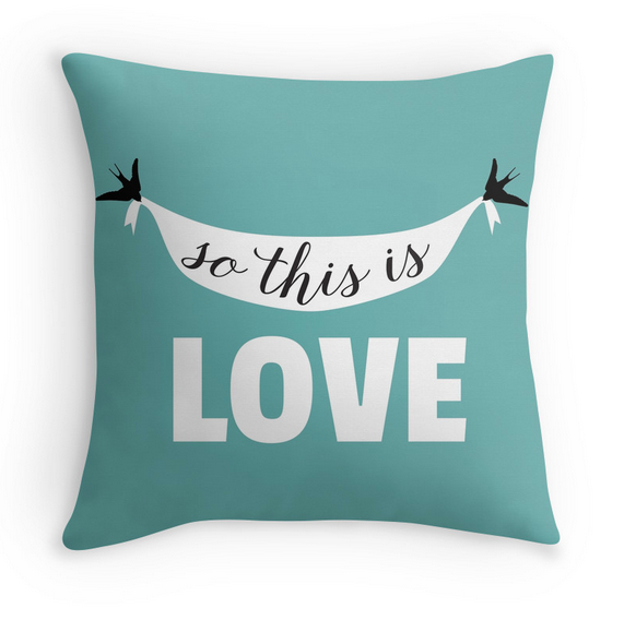 So this is love pillow