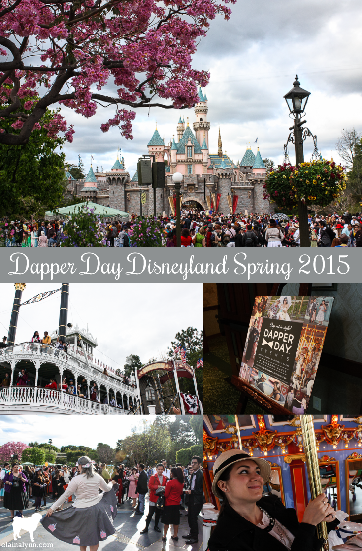 Dapper Day Disneyland Spring 2015 Pin