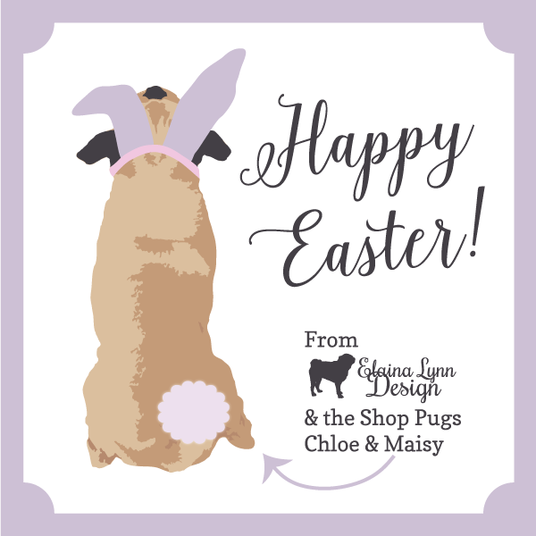 Happy Easter from Elaina Lynn Design