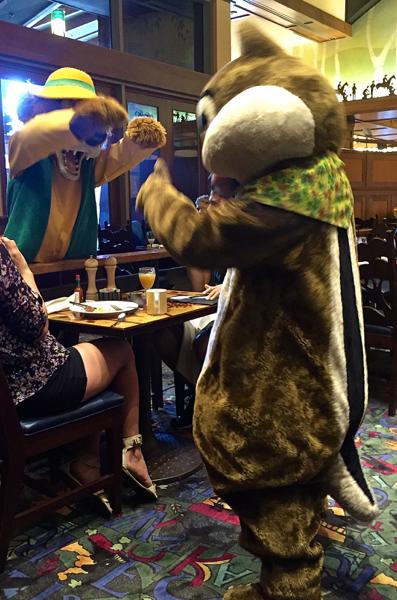 Disneyland Critter Character Breakfast 5