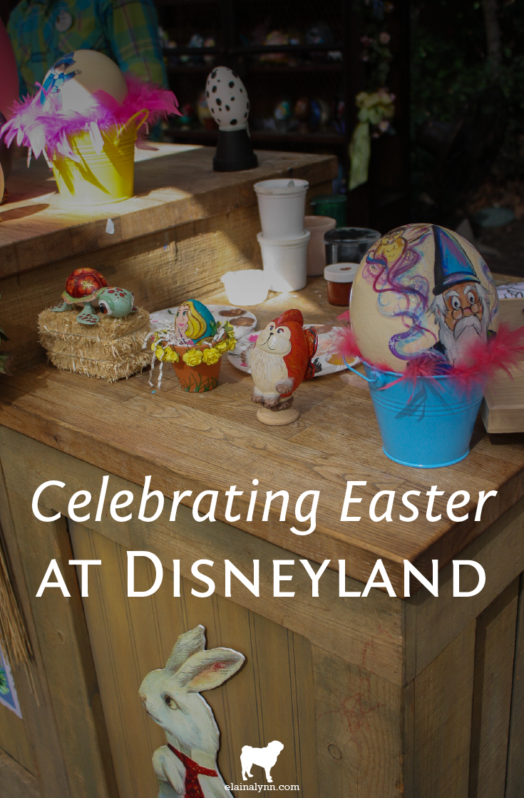 Celebrating Easter at Disneyland