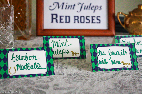 Kentucky Derby Party Printables from Enchanted Type