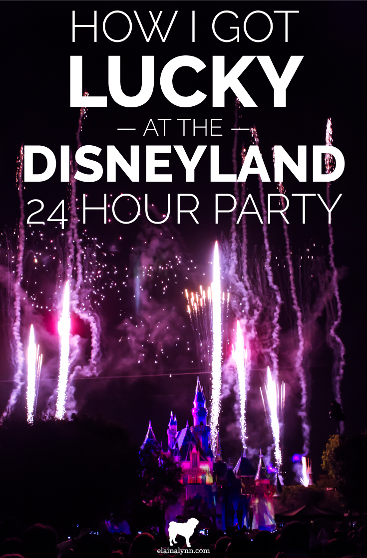 How I Got Lucky at the Disneyland 24 Hour Party Diamond Celebration