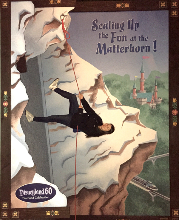 Disneyland 60 Matterhorn for Diamond Celebration