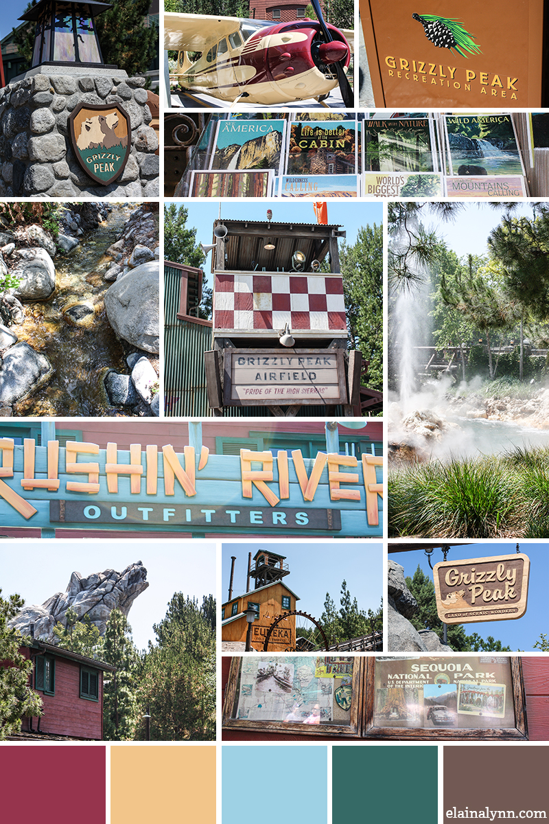 DCA Grizzly Peak Inspiration Board