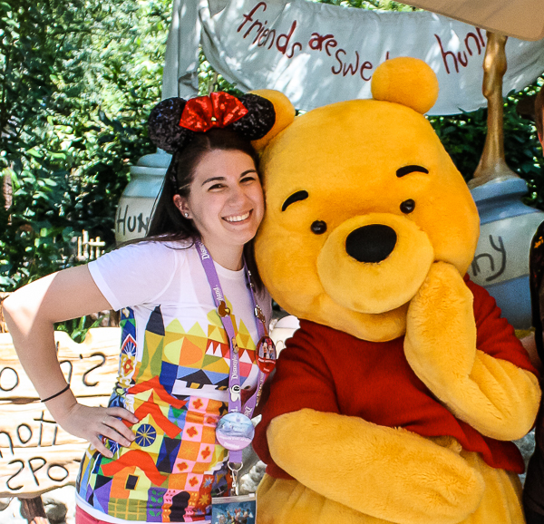 Visiting Pooh Corner in Critter Country