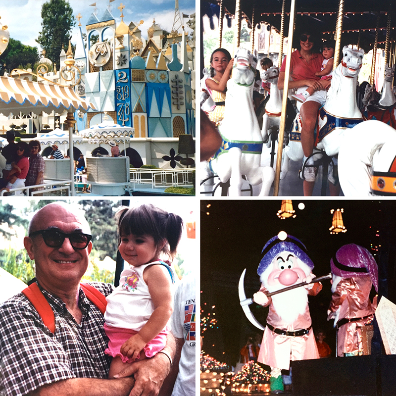 Disneyland in the 80's