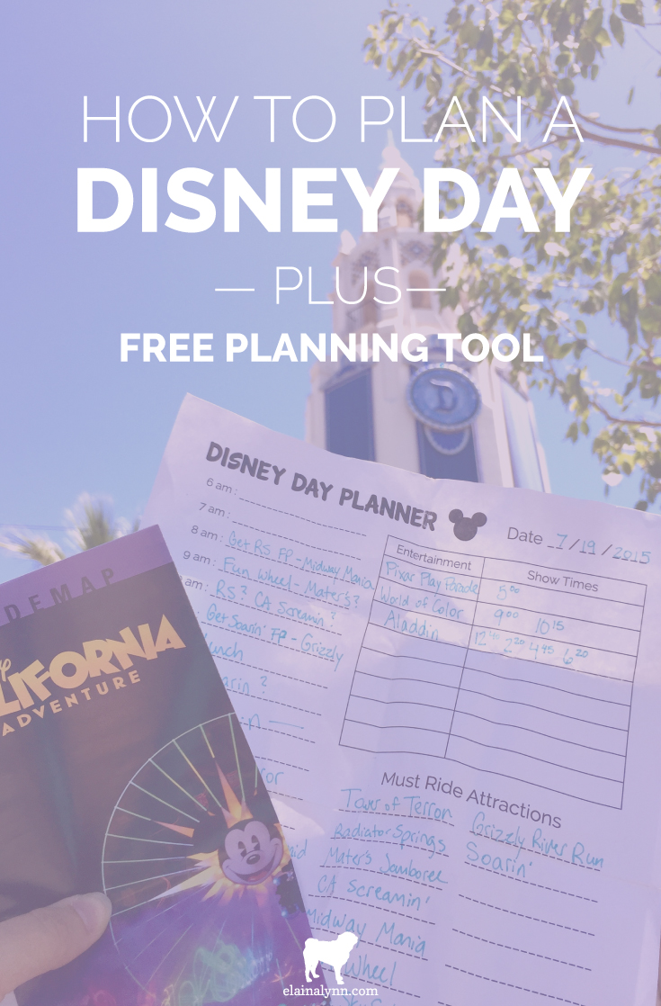 Planning your Disney vacation