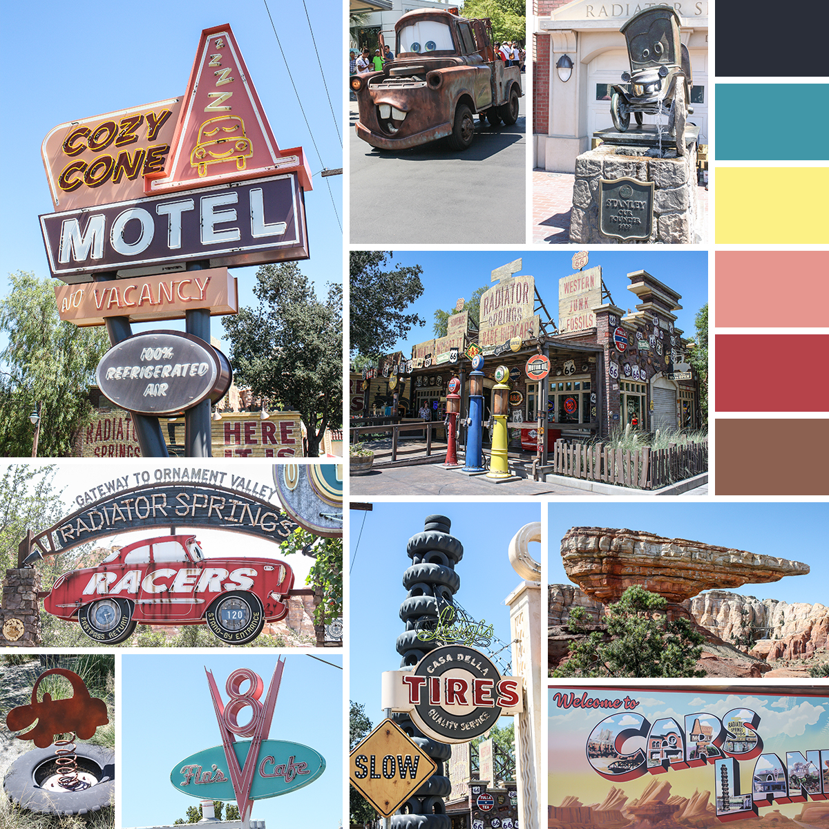 Radiator Springs in Disney California Adventure