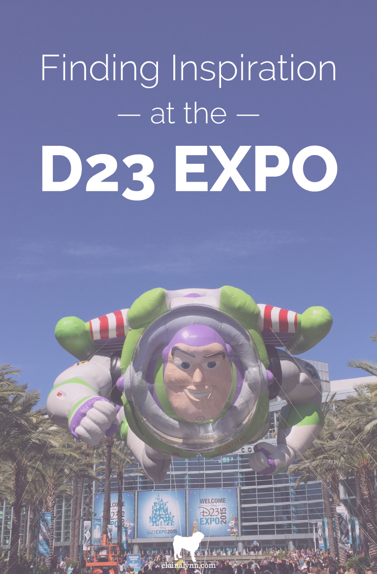 Finding Inspiration at the D23 Expo 2015