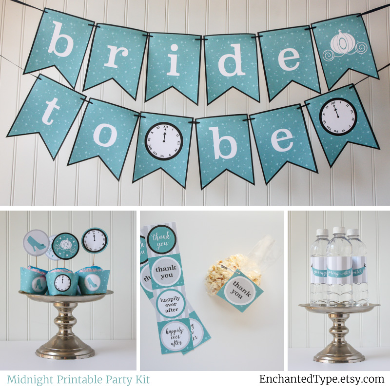 Cinderella Bridal Shower party