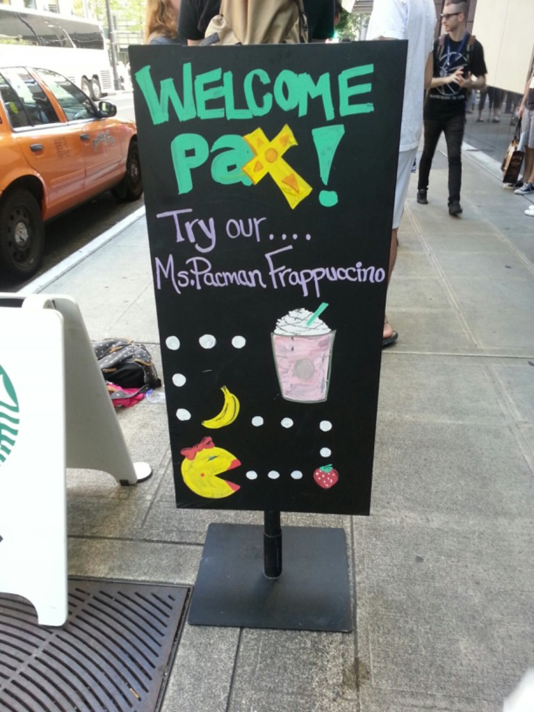Starbucks Drink for PAX attendees