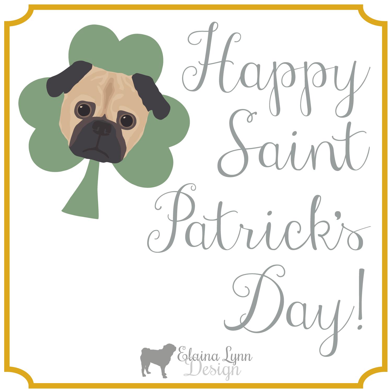 St. Patrick's Pug