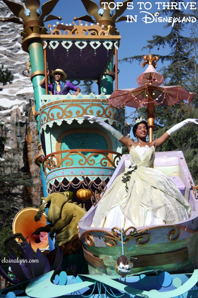The Princess & the Frog Parade Float