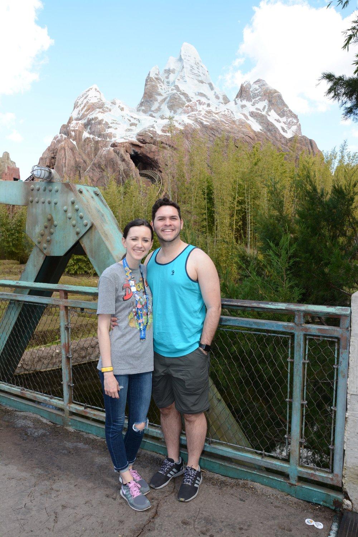 Freddy and I at Animal Kingdom, Walt Disney World, January 2017.