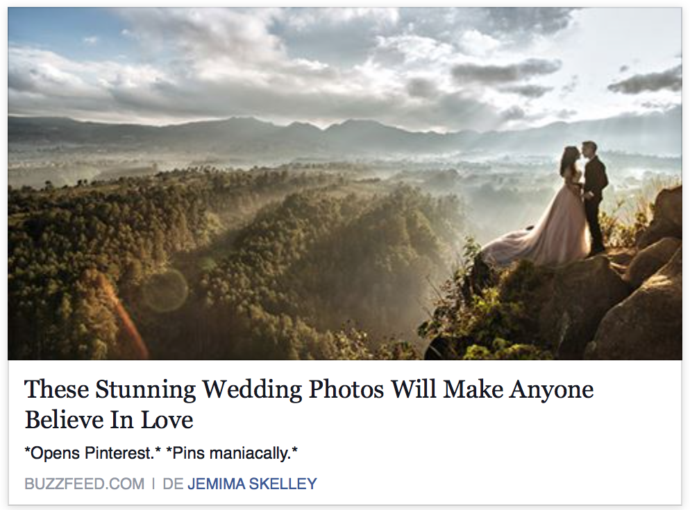 BUZZFED.com  These Stunning Wedding Photos Will Make Anyone Believe In Love