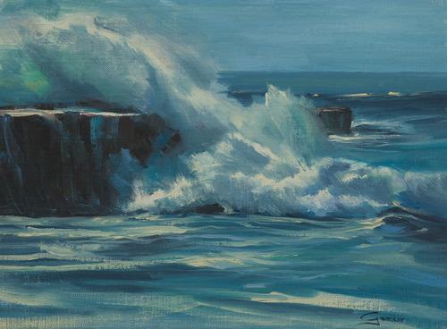 ocean paintings