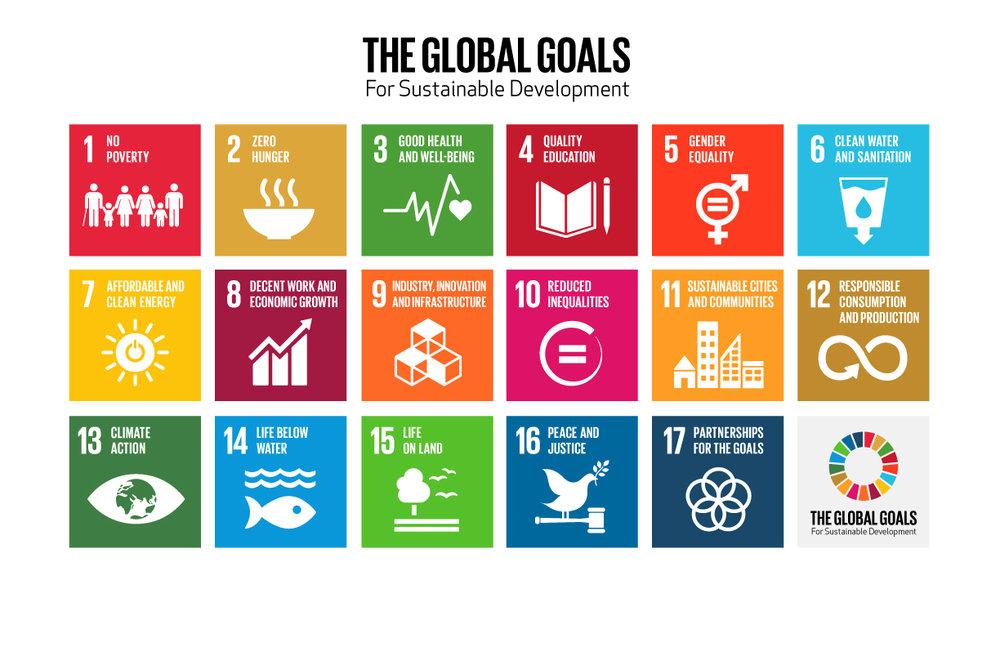 de globala hållbarhetsmålen