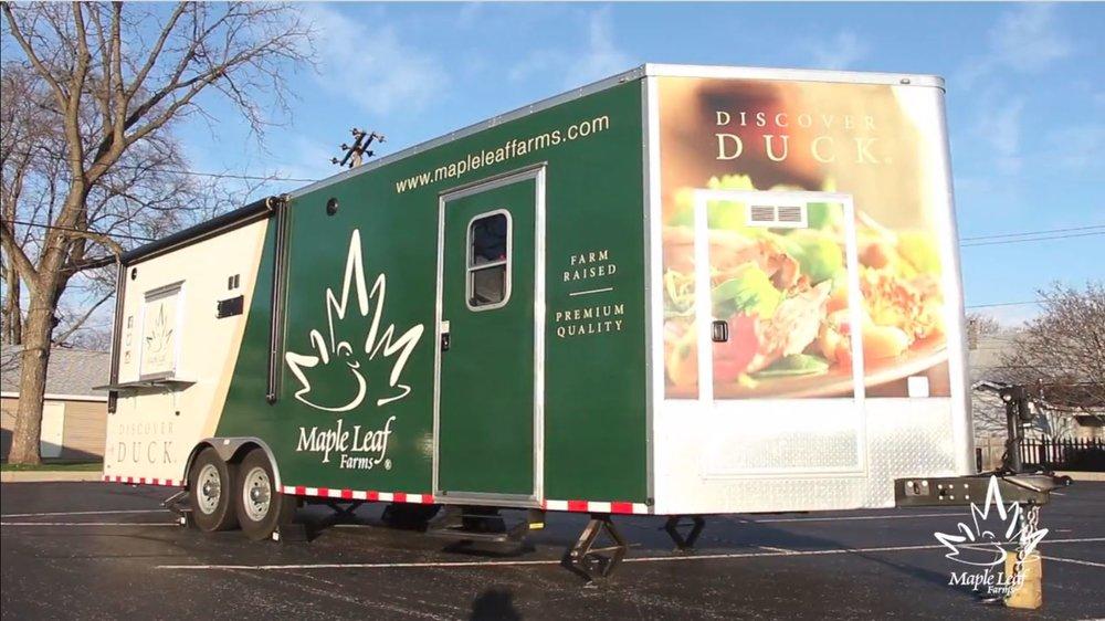 On the Road with the Duck Food Truck - Maple Leaf Farms - InternalPassword: kjportfolio