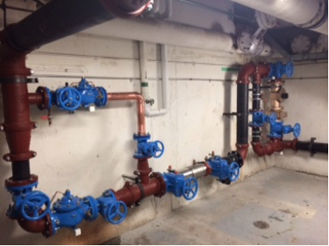 PVR & Backflow Station