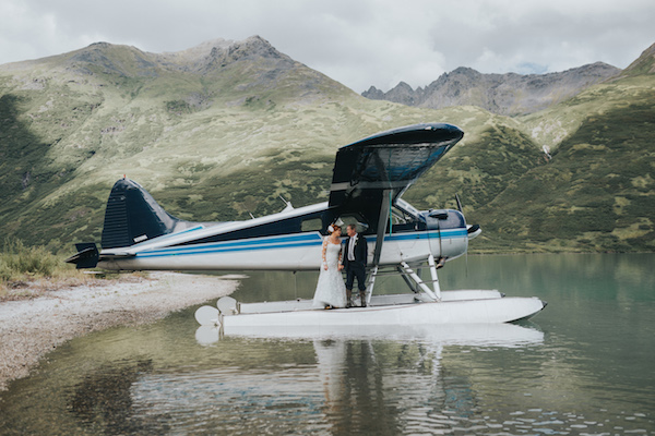 Alaska Back Country Flight Seeing - Alaska Destination Weddings