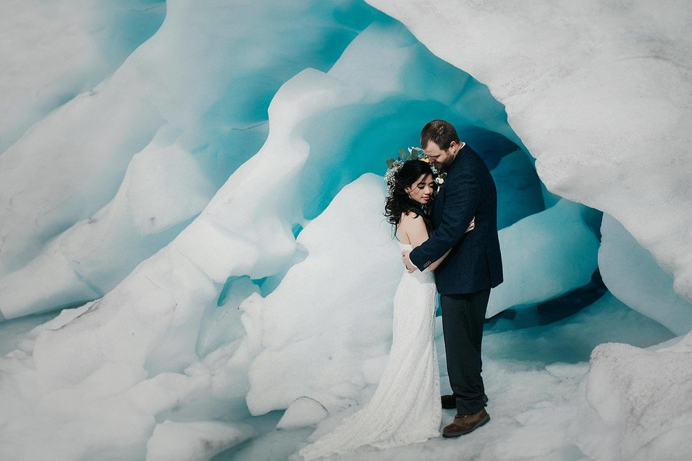 Glacier Elopement - Alaska Destination Weddings