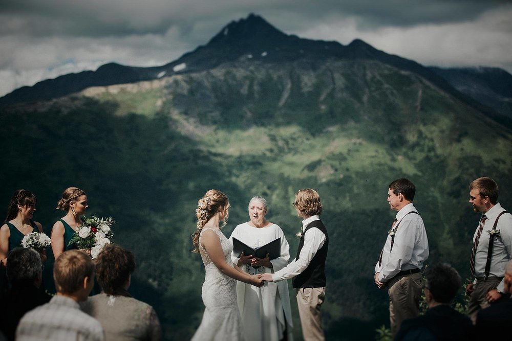 Intimate Elopement - Alaska Destination Weddings