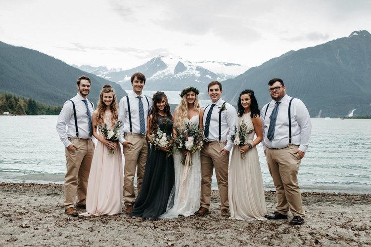 Intimate Weddings Gallery Alaska Destination