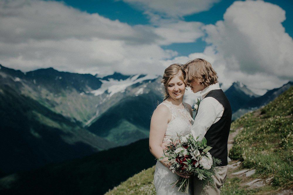 Intimate Weddings - Alaska Destination Weddings