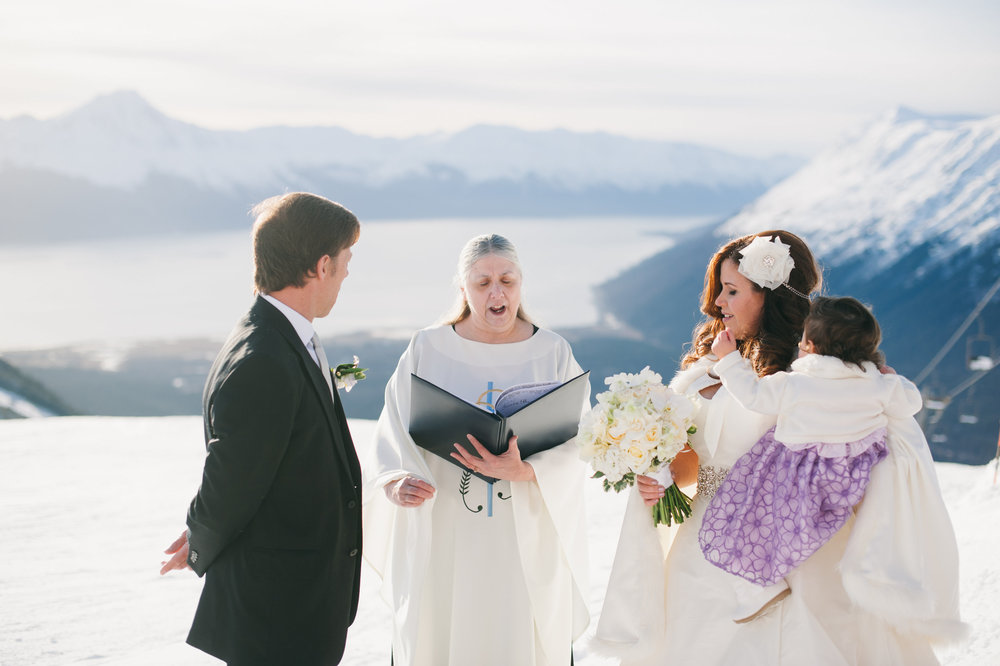 Intimate Wedding - Alaska Destination Weddings