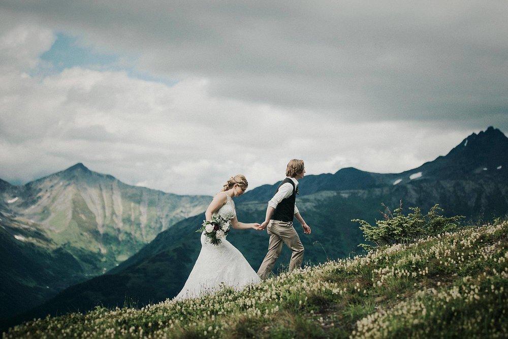 Alaska Destination Weddings - Scenic Rainforest
