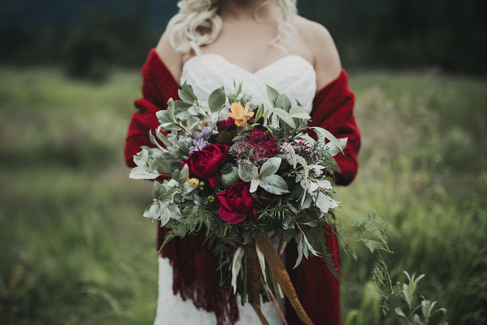 Bohemian Mountain Elopement in Alaska - Alaska Destination Weddings