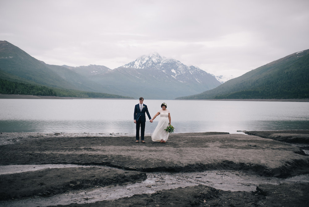 Alaska Destination Weddings Elopement