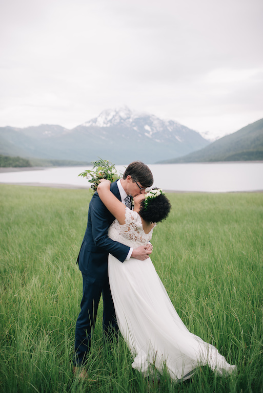 Eklutna Lake Elopement