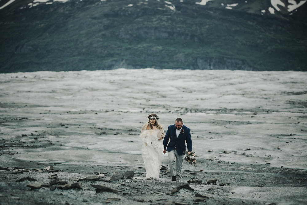 Alaska Destination Weddings - Glacier Elopement