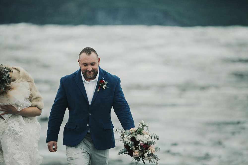 Alaska Glacier Elopement - Alaska Destination Weddings