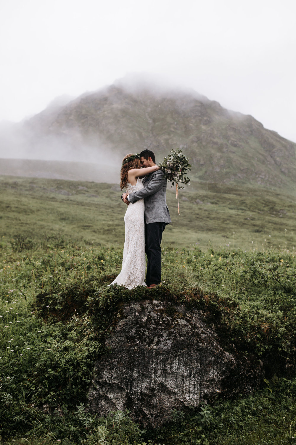 Alaska Elopement - Elope to Alaska - Alaska Destination Weddings